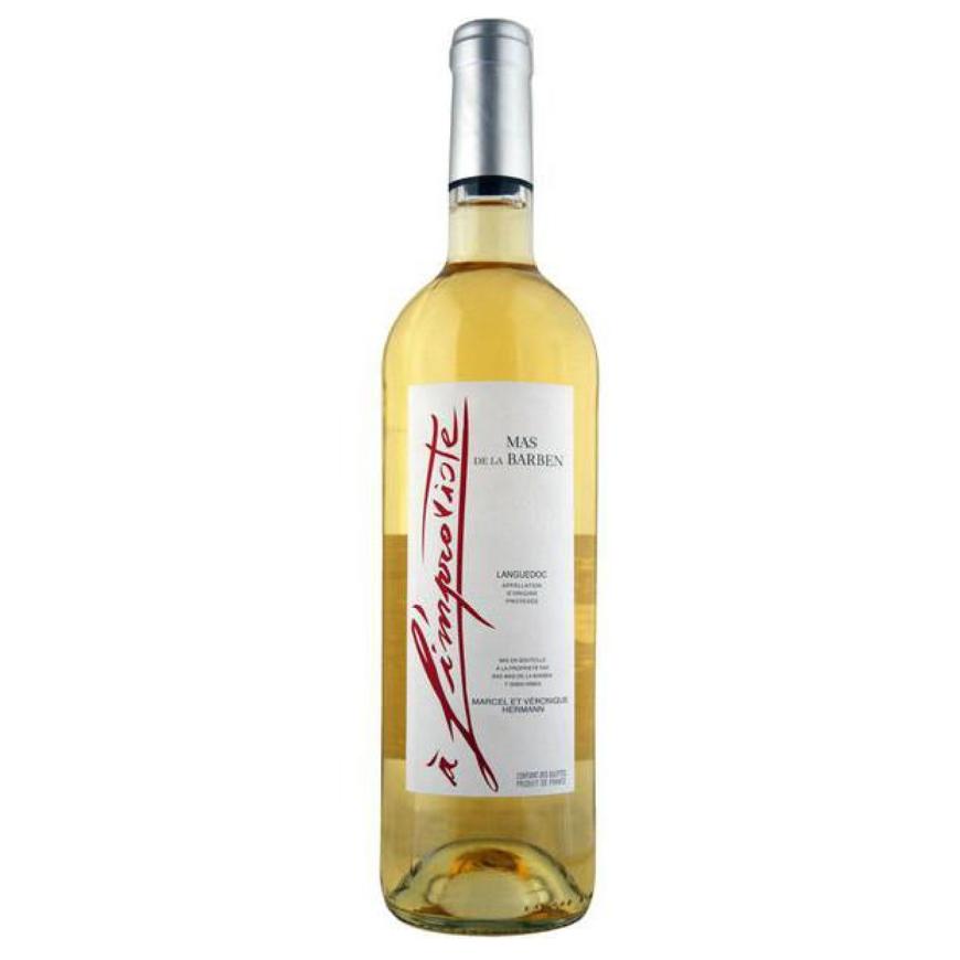 Mas de la Barben Couteau du Languedoc A l'Improviste Blanc 2016