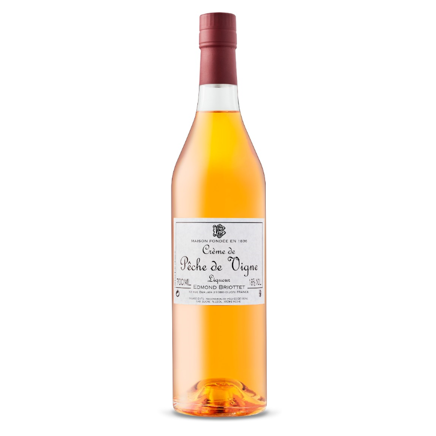 Briottet Creme de Peche de Vigne Peach Liqueur