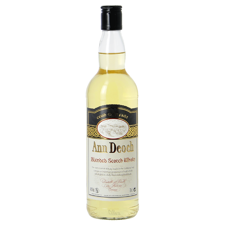 Blended Ann Deoch Scotch Whisky
