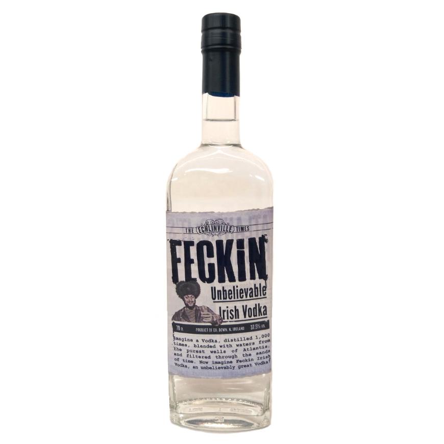 Feckin Irish Vodka