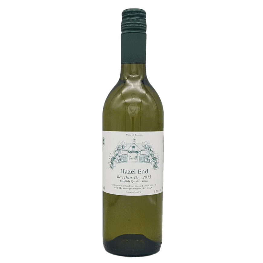 Hazel End Bacchus Dry English Wine 2015