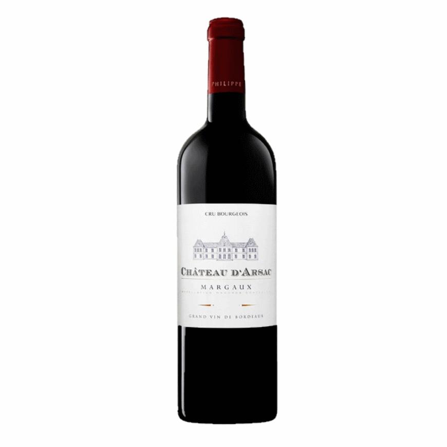 Chateau D'Arsac Margaux Bordeaux 2014