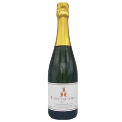 Three Squirrels Brut English Sparkling Wine 2014