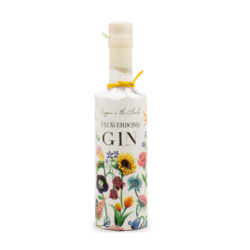 Copper in the Clouds One Time Gin Flowerbomb half bottle